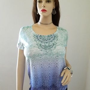 Style & Co tees short sleeve, new, size S